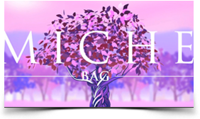 video frame of Miche hand bag motion graphics